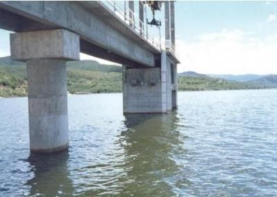 Apoio à fiscalização das obras de construção da barragem de Zabumbão, no Rio Paramirim
