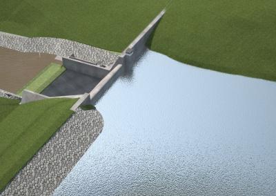 Estudo de viabilidade e projeto executivo da barragem de Baraúnas no Rio Cochó, bacia do Paraguaçu