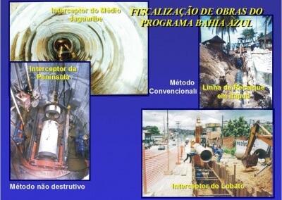 Gerenciamento das bacias de esgotamento sanitário dos subsistemas Jaguaribe e Comércio – Bahia