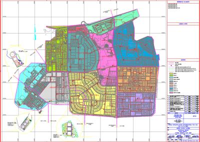 Projeto executivo do sistema de esgotamento sanitário de 5 cidades na Líbia