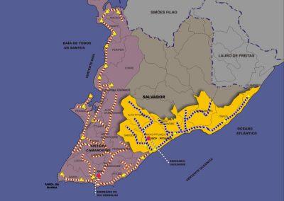 Plano diretor de esgotamento sanitário de Salvador e Lauro de Freitas – Bahia