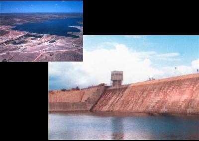 Projeto básico e projeto executivo da barragem de Pedras altas, no Rio Itapicuru-mirim