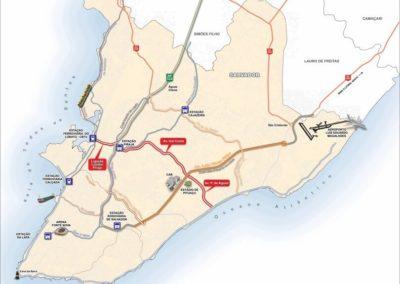 Projeto da Av. Gal costa como um corredor de transporte interligando a Av. Paralela com a rodovia BR-324 e a Av. Suburbana – Salvador-BA