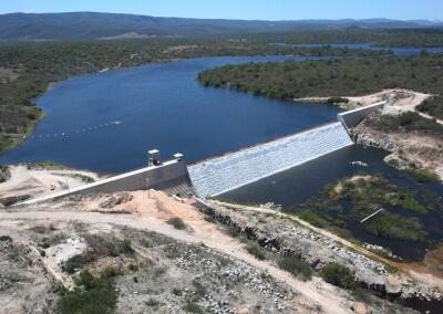 Estudo de viabilidade, projeto de engenharia e EIA/RIMA da barragem de Cristalândia