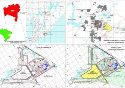 Estudos, projetos e fiscalização de obras de infraestrutura para indústrias