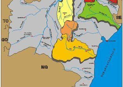 Planos diretores de recursos hídricos das bacias do Rio de Contas e bacia do sub-médio São Francisco e Projeto de gerenciamento dos recursos hídricos do estado da Bahia – bacias do Itapicuru, Verde-jacaré e Alto Paraguaçu