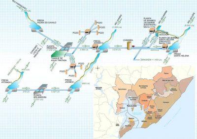 Plano de abastecimento de água potável da região metropolitana de Salvador – Bahia