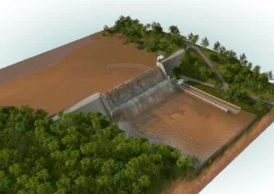 Projeto executivo e apoio à fiscalização da construção da barragem no Rio Colônia